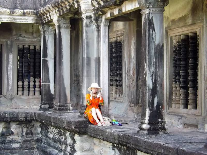 Angkor Wat, Siem Reap,