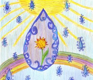 Fellinger Dorothy: Az éltető vízcsepp (Hidaskürt - Felvidék)